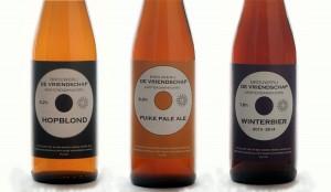 Brouwerij de Vriendschap 3 flesjes