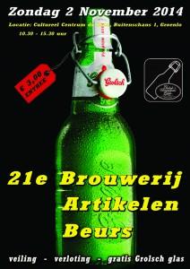 21e Algemene Brouwerijartikelen Beurs van het Grolsch Verzamelaars Gilde