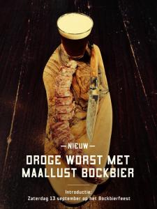 Worst met Maallust Bockbier