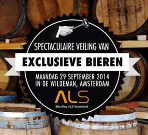 Exclusieve bierveiling t.b.v. ALS Nederland
