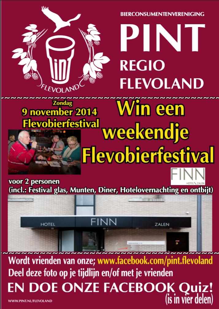 Win een verzorgd weekend Flevobierfestival 2014