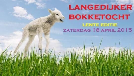 Langedijker Bokketocht – lente editie
