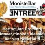 Hertog Jan Proeverij mooiste klassieke bar van Nederland