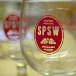 SPSW glas leeg
