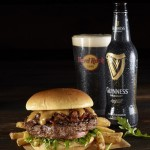 Hard Rock Guinness Jameson burger en bier duet